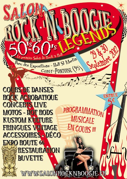 09 2012 - Salon Rock 'n Boogie - Cergy (95) flyer_boogie